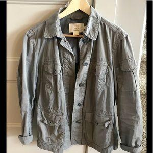 Women's JCrew military jacket